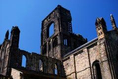 Abadía de Kirkstall, Leeds, Inglaterra Imágenes de archivo libres de regalías