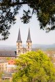 Abadía de Kloster Michelsberg en Bamberg Imagen de archivo
