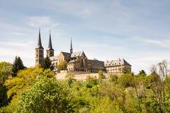 Abadía de Kloster Michelsberg en Bamberg Imágenes de archivo libres de regalías