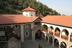 Abadía de Kykkou Fotografía de archivo libre de regalías