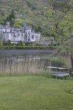 Abadía de Kylemore, cerca del parque nacional de Connemara Imagenes de archivo