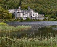 Abadía de Kylemore en Connemara Fotos de archivo libres de regalías
