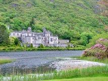 Abadía de Kylemore - imagen común Foto de archivo libre de regalías