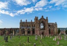 Abadía de la colada, Escocia Imágenes de archivo libres de regalías