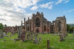 Abadía de la colada, Escocia Imagen de archivo