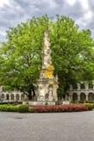 Abadía de la cruz y del x28 santos; Stift Heiligenkreuz& x29; en el bosque de Viena Fotos de archivo