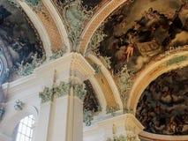 Abadía de la rozadura del santo, St Gallen, Suiza Imagenes de archivo