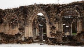 Abadía de la ruina de Vauclair en Francia. Foto de archivo