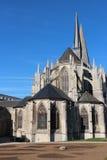 Abadía de la trinidad - VendÃ'me - Francia Imagenes de archivo