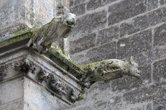 Abadía de la trinidad - VendÃ'me - Francia Fotografía de archivo libre de regalías