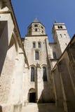 Abadía de la vertical cluny Imagen de archivo libre de regalías