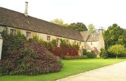 Abadía de Lacock, Chippenham, Wiltshire, Inglaterra Fotografía de archivo