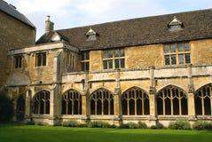 Abadía de Lacock en Wiltshire, Inglaterra, Europa Fotografía de archivo libre de regalías