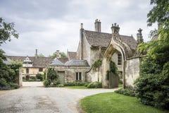 Abadía de Lacock, Wiltshire Foto de archivo