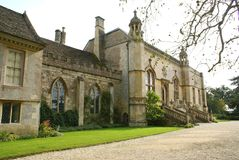 Abadía de Lacock, Wiltshire, Inglaterra Fotos de archivo libres de regalías