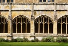 Abadía de Lacock, Wiltshire, Inglaterra Foto de archivo