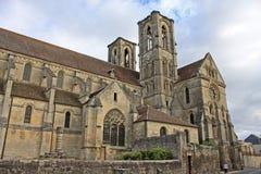 Abadía de Laon, Francia Foto de archivo libre de regalías