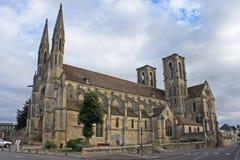 Abadía de Laon, Francia Foto de archivo