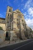 Abadía de Laon, Francia Imagenes de archivo