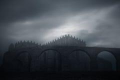 Abadía de las edades oscuras Fotografía de archivo