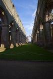 Abadía de las fuentes Fotos de archivo libres de regalías