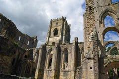 Abadía de las fuentes, Ripon Fotos de archivo