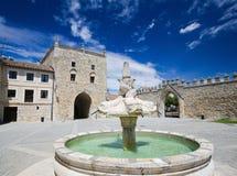 Abadía de Las Huelgas cerca de Burgos en España Foto de archivo libre de regalías