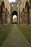 Abadía de Leeds Kirkstall Fotos de archivo libres de regalías