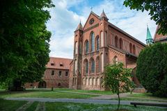 Abadía de Lehnin, Brandeburgo, Alemania Imagen de archivo