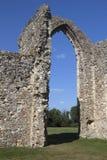 Abadía de Leiston, Suffolk, Inglaterra Fotografía de archivo
