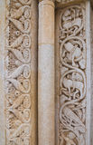 Abadía de Leonardo del St. Manfredonia. Puglia. Italia. Imagenes de archivo
