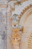 Abadía de Leonardo del St. Manfredonia. Puglia. Italia. Imagen de archivo libre de regalías