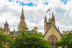Abadía de Londres - de Westminster Fotos de archivo libres de regalías