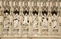 Abadía de Londres - de Westminster - santos Imagen de archivo