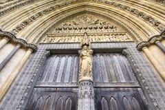 Abadía de Londres Westminster Imágenes de archivo libres de regalías