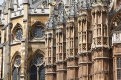 Abadía de Londres Westminster Fotos de archivo