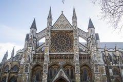 Abadía de Londres Westminster Fotografía de archivo