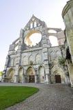 Abadía de Longpont (Picardie) Foto de archivo libre de regalías
