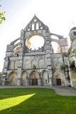 Abadía de Longpont (Picardie) Fotografía de archivo libre de regalías
