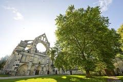 Abadía de Longpont (Picardie) Imagen de archivo libre de regalías