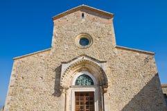 Abadía de Madonna del Casale. Pisticci. Basilicata. Italia. Imagen de archivo
