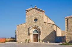 Abadía de Madonna del Casale. Pisticci. Basilicata. Italia. Fotos de archivo libres de regalías