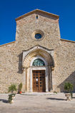 Abadía de Madonna del Casale. Pisticci. Basilicata. Italia. Fotografía de archivo libre de regalías