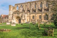 Abadía de Malmesbury Fotografía de archivo