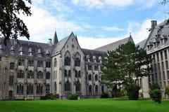 Abadía de Maredsous Foto de archivo libre de regalías