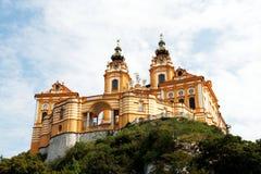 Abadía de Melk Foto de archivo