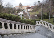 Abadía de Melk Imagenes de archivo