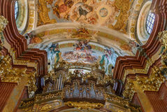 Abadía de Melk, Austria Foto de archivo