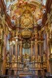 Abadía de Melk, Austria Imagen de archivo libre de regalías