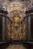 Abadía de Melk - Melk - Austria Imágenes de archivo libres de regalías